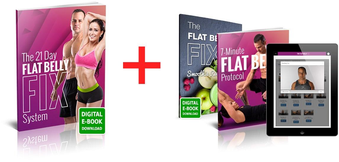 21-Day Flat Belly Fix Program