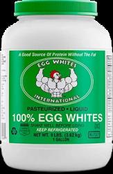 100% Pure Liquid Egg Whites
