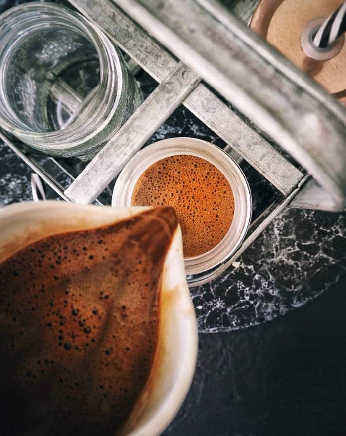 Hazelnut Hot Chocolate Keto Drink