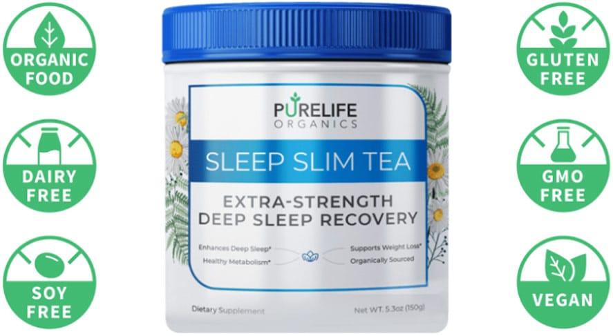 sleep slim tea PureLife Organics